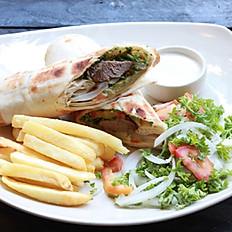 Sandwich BBQ Lamb