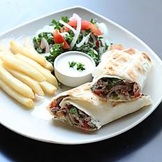 Sandwich Shawarma Lamb