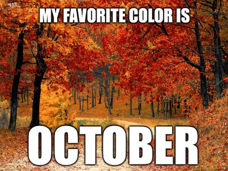 Finally it's Fall!
