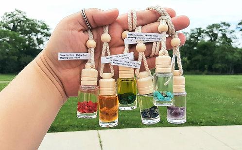 Car Diffusers - Essential Oils & Gemstones