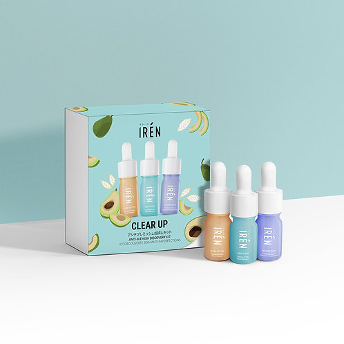CLEAR UP Kit Découverte Soin Anti-Imperfections