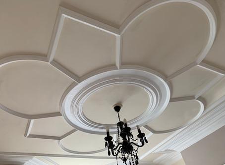 Decorative Victorian Ceiling Plaster work