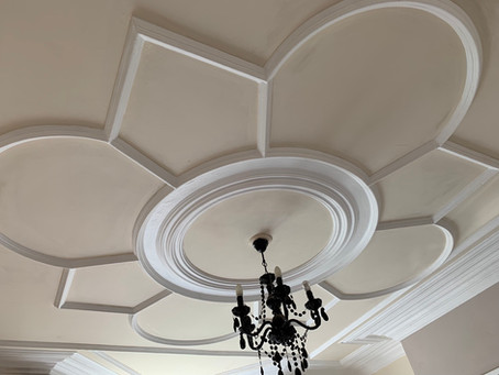 Decorative Victorian Ceiling Plaster work
