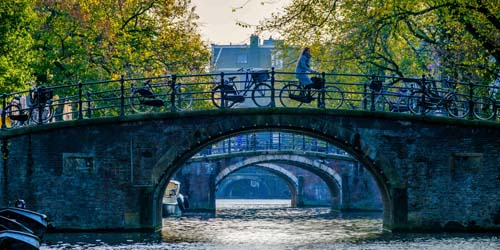 Amsterdam Canal Bridge