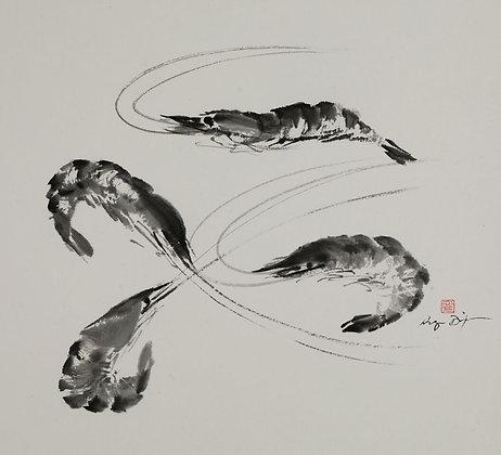 Angie Dixon, Four Shrimp