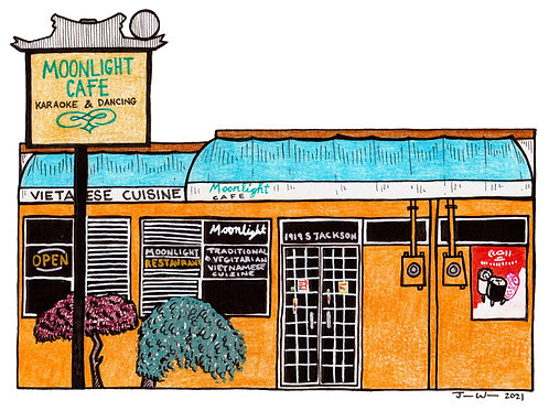 Julia Wald, Moonlight Cafe (Central District)- not closed