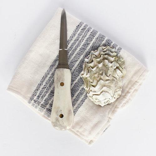 Shed Elk Antler Oyster Knife