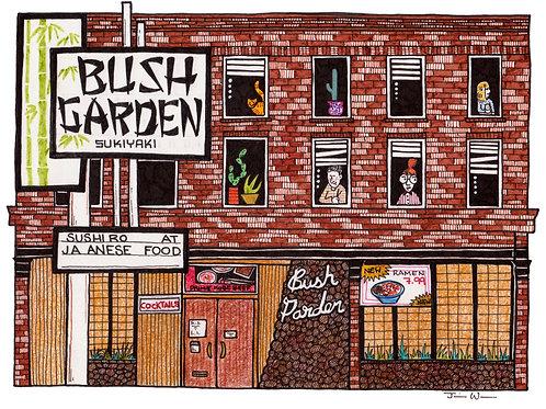 Julia Wald, Bush Garden