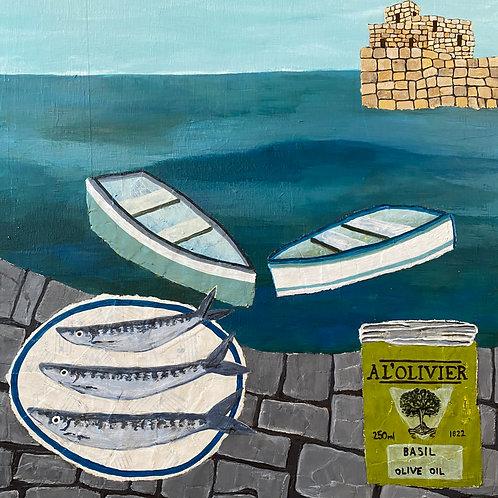 Eliza Brown, Sardines and Olive Oil