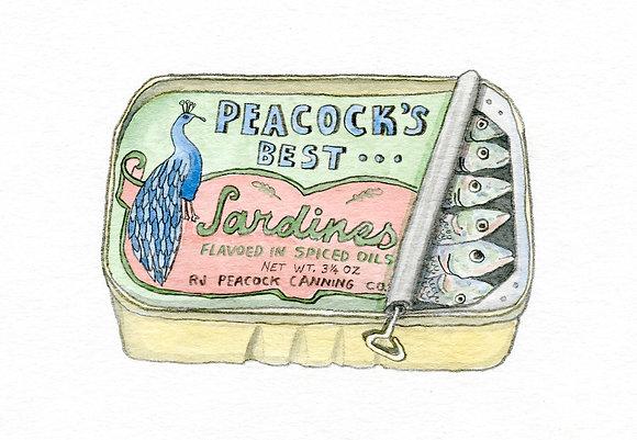 Brandon Vosika, Peacock's Best Sardines
