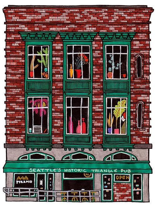 Julia Wald, Triangle Pub (Pioneer Square)