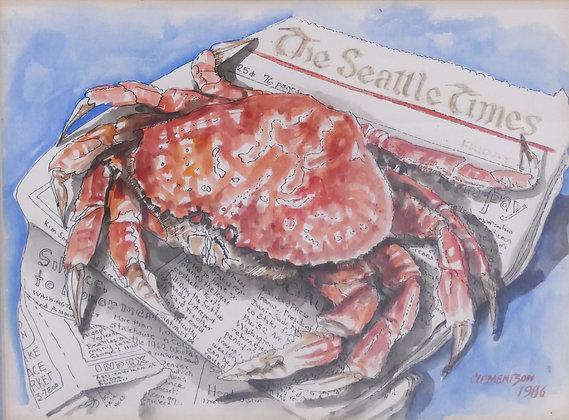 Sarah Clementson Yaeger,  Fresh Crab