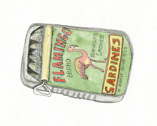 Brandon Vosika, Flamingo Brand Sardines