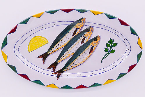Terry Siebert, 3 Sardines Platter