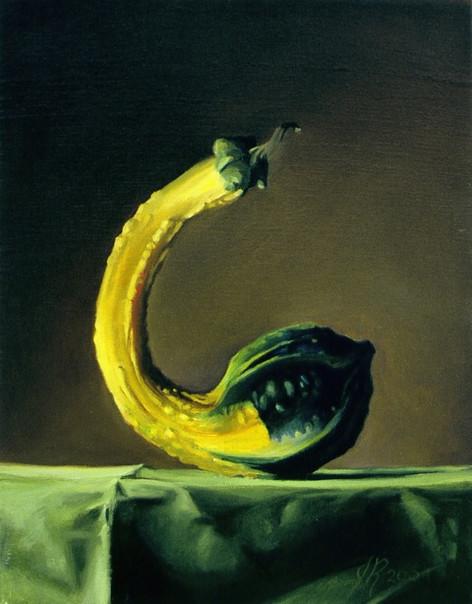 John Rizzotto, Crookneck, 2004, oil on canvas
