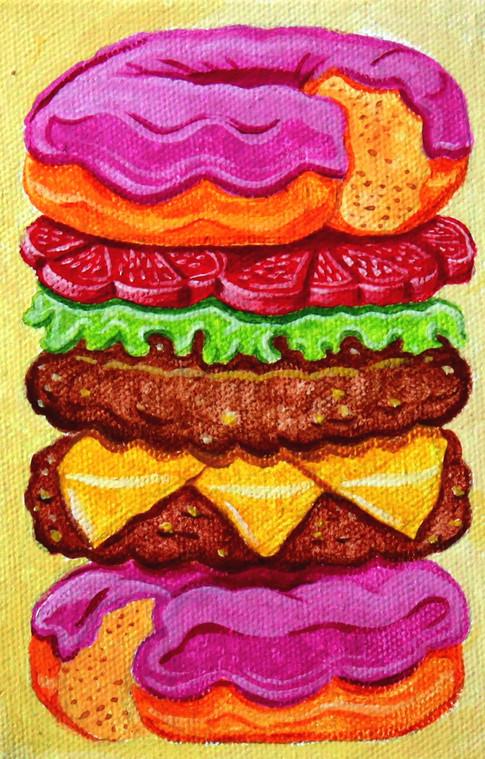 Donut Hamburger