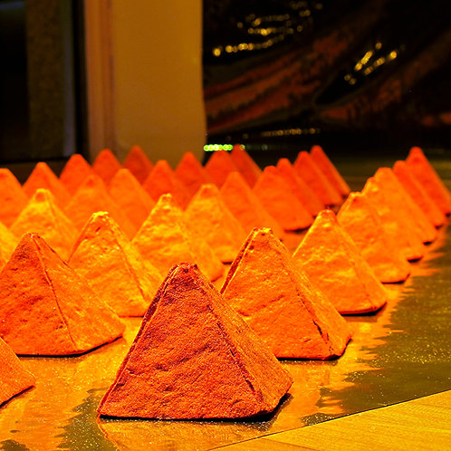 Troy Gua, Orange Dust Pyramids