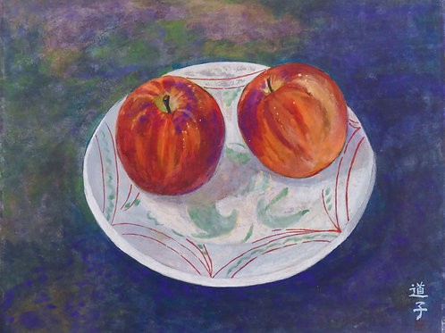 Michiko, Bowl with Apples