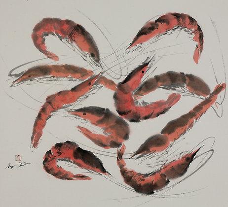 Angie Dixon, Lots of Shrimp