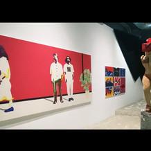 "Group exhibition ""Rabbit hole peeps"""