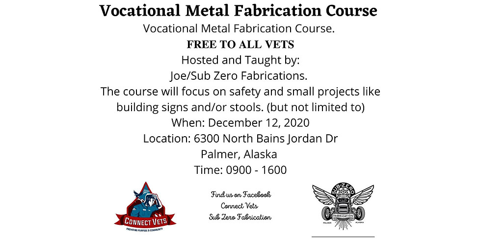 Intro To Metal Fabrication (Dec)