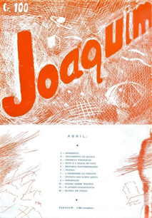 Joyce in Joaquim, by Vitor Alevato do Amaral