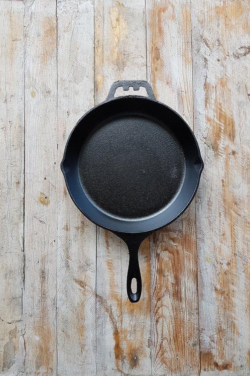 กระทะเหล็กหล่อ ขนาด 10 นิ้ว Pre-seasoned cast iron 10 inches