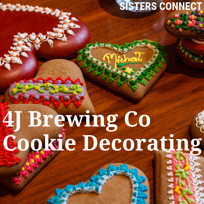 Sisters Connect: 4J Brewing and Cookie Decorating Class