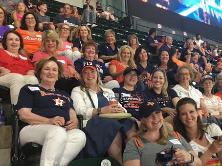 Sisters Connect @ Astros Game