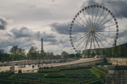 Jardin de Tuileries, Paris, France