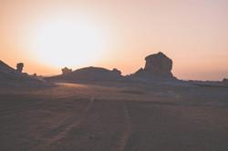 Offroading in Egypt's White Desert