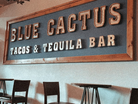The Blue Cactus: Franklin, Indiana