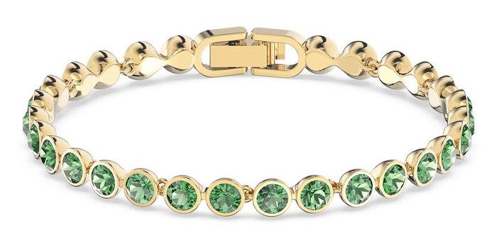 Swarovski armbånd Tennis Bracelet, grønn