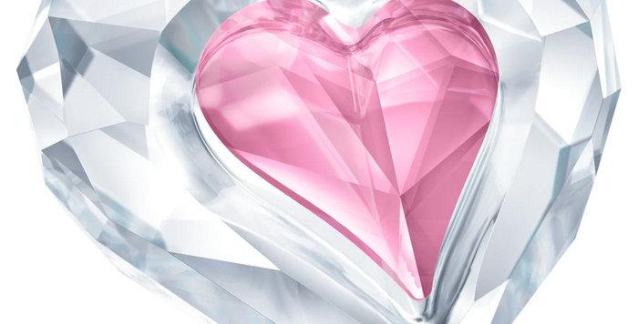 Swarovski figurer Heart, Only For You