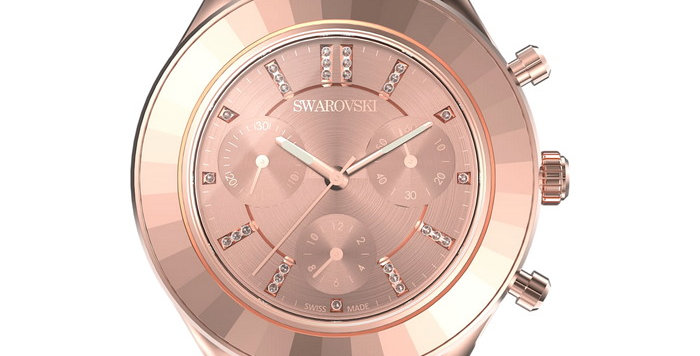 Swarovski klokke Octea Lux Sport watch Metal bracelet, Rose gold tone