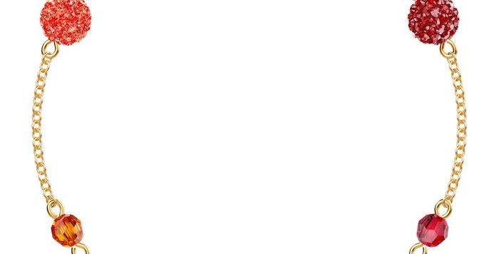 Swarovski armbånd Remix Collection Pop, flerfarget