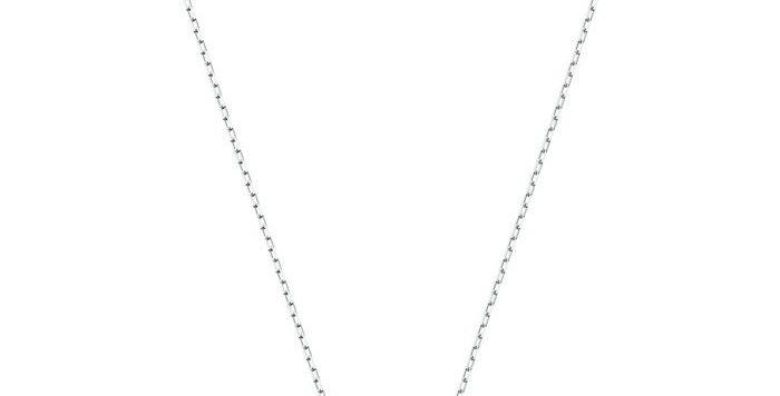 Swarovski smykke Dancing Swan Necklace, Blue, Rhodium plated