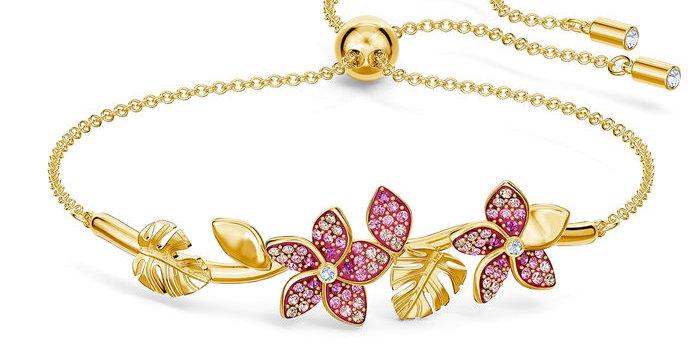 Swarovski collier Tropical Flower, pink