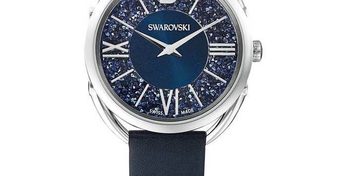 Swarovski klokke Crystalline Glam, blå