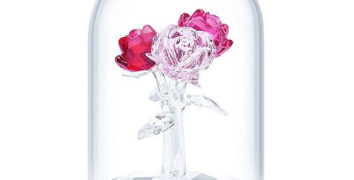 Swarovski figurer Rose Bouquet