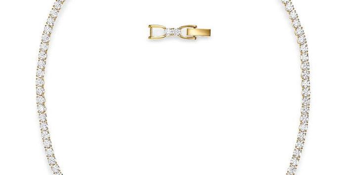 Swarovski collier Tennis Deluxe, hvitt