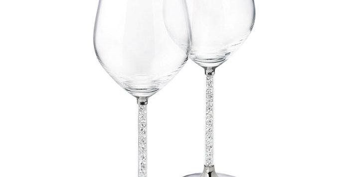 Swarovski Crystalline Wine Glasses (Set of 2)