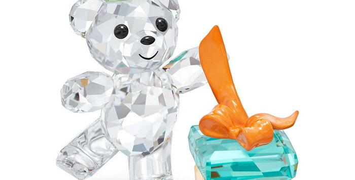 Swarovski figurer Kris Bear - Best Wishes