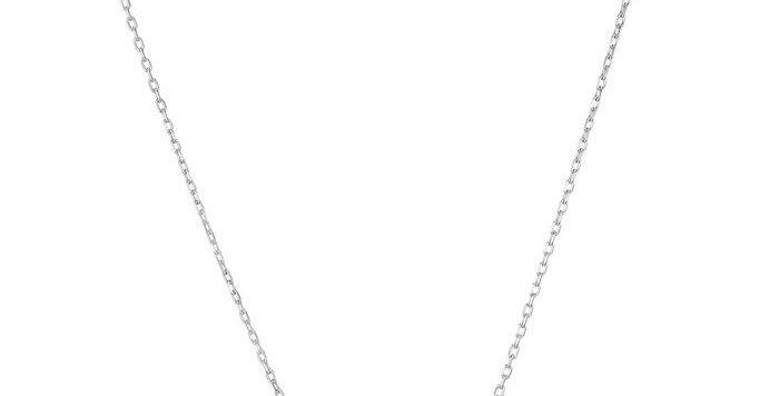 Swarovski smykkesett Infinity, hvitt