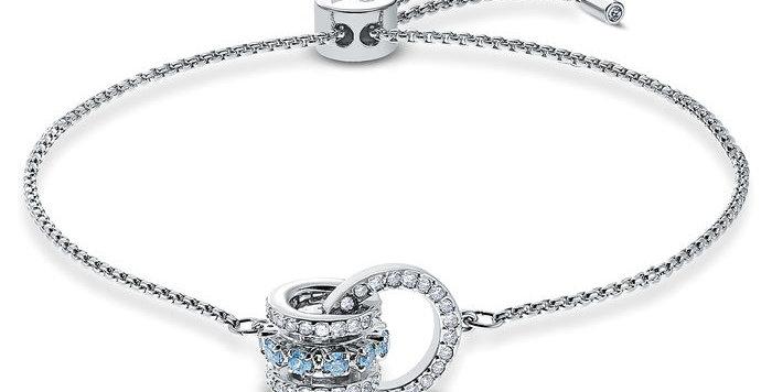 Swarovski armbånd Further Bracelet, blue