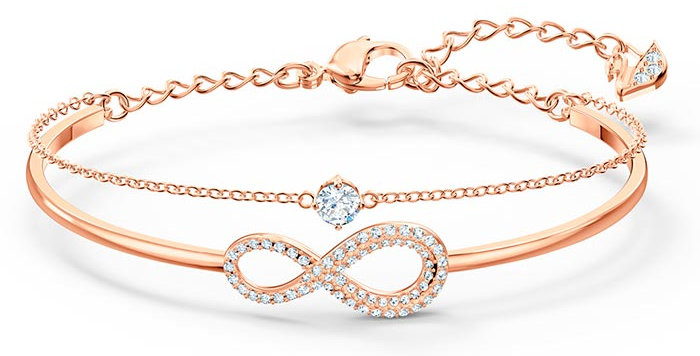 Swarovski armlenke Infinity Bangle Chain Crystal