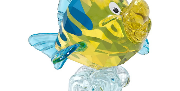 Swarovski figur The Little Mermaid Flounder