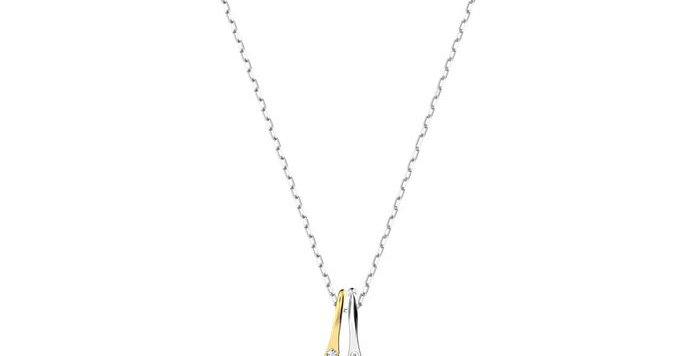 Swarovski smykke Ginko, hvitt