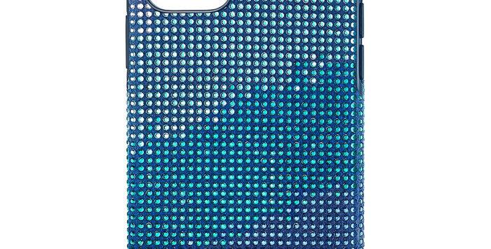 Swarovski  Iphone 11 Pro deksel Crystalgram, blå