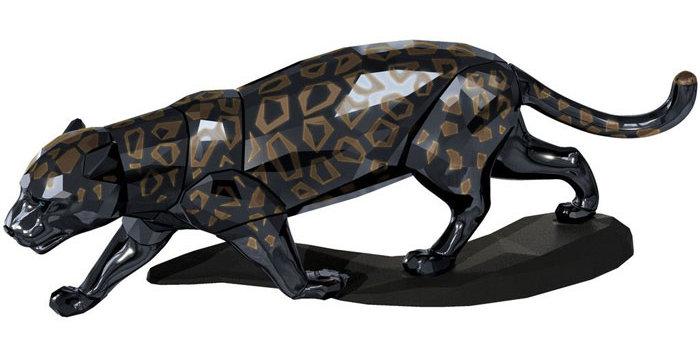 Swarovski figurer Jaguar